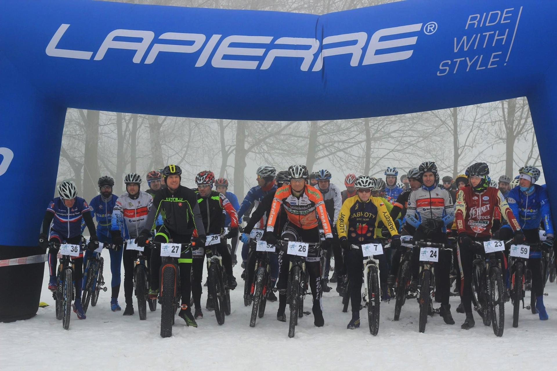 Start Ledového kafe 2015