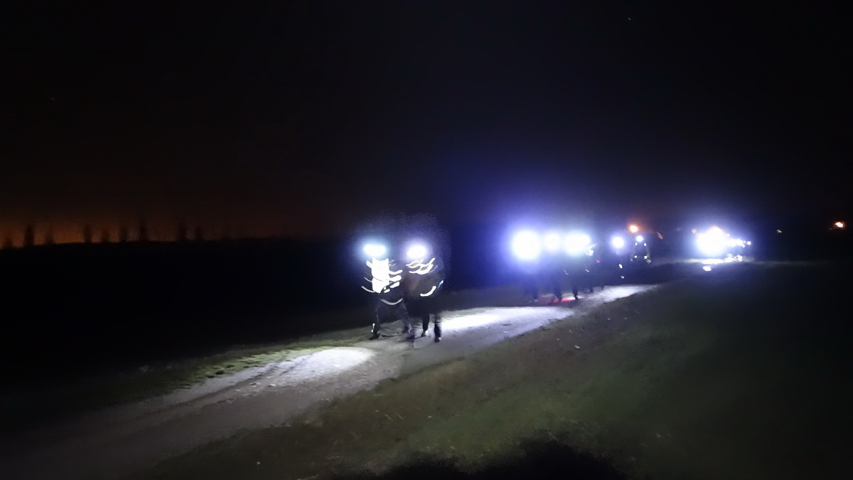 Noční pochod Velbud 2016