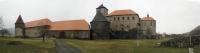 Panorama hradu Švihov