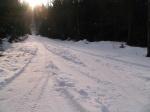 Cesta u Míšovského domku