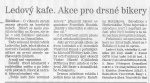 Článek o Ledovém kafi v Plzeňském deníku