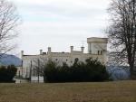 Leontýnský zámek, bohužel není přístupný