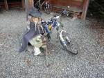 Skřítek v chatě Křižovatka na kole