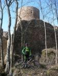 Tlumič na hradě Valdek v Brdech