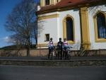 Šéďa,Tlumič a Martin u Kostela v Rabštejně nad Střelou