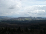 Pohled z rozhledny Strážný vrch