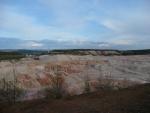 Kaolinový důl nedaleko Kaznějova
