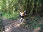 Dejv bojuje při výjezdu na Střížovský vrch
