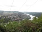 Výhled na Vrané nad Vltavou